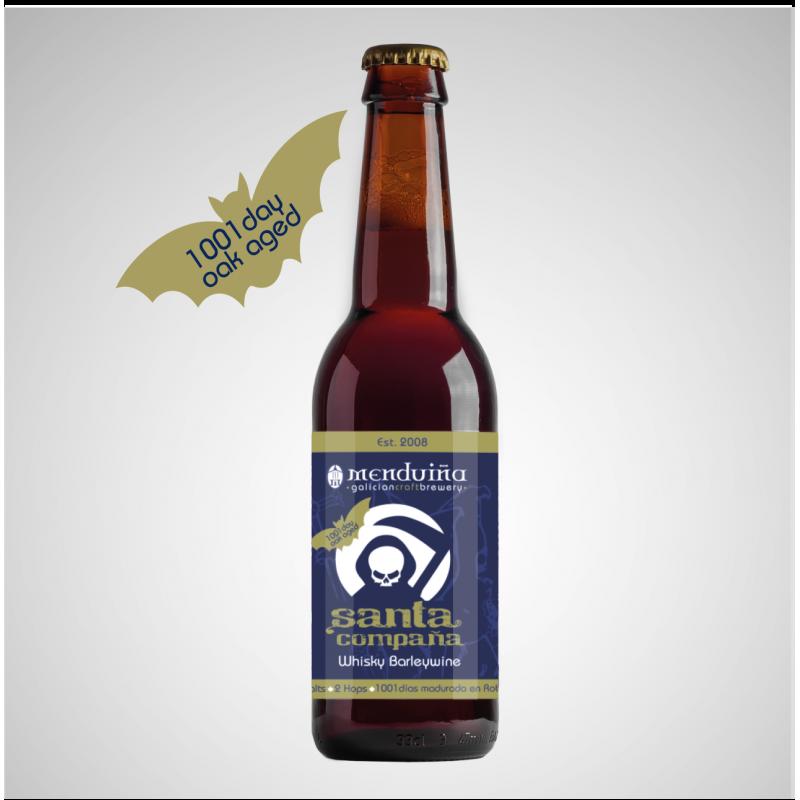 Santa Compaña - Oak Aged Barley Wine Menduiña